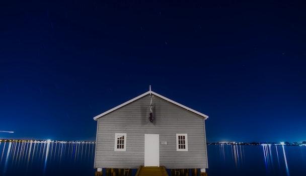 Free stock photo of nature, sky, lights, night