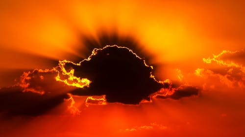 Imagine de stoc gratuită din apus, aur, backlit, cer