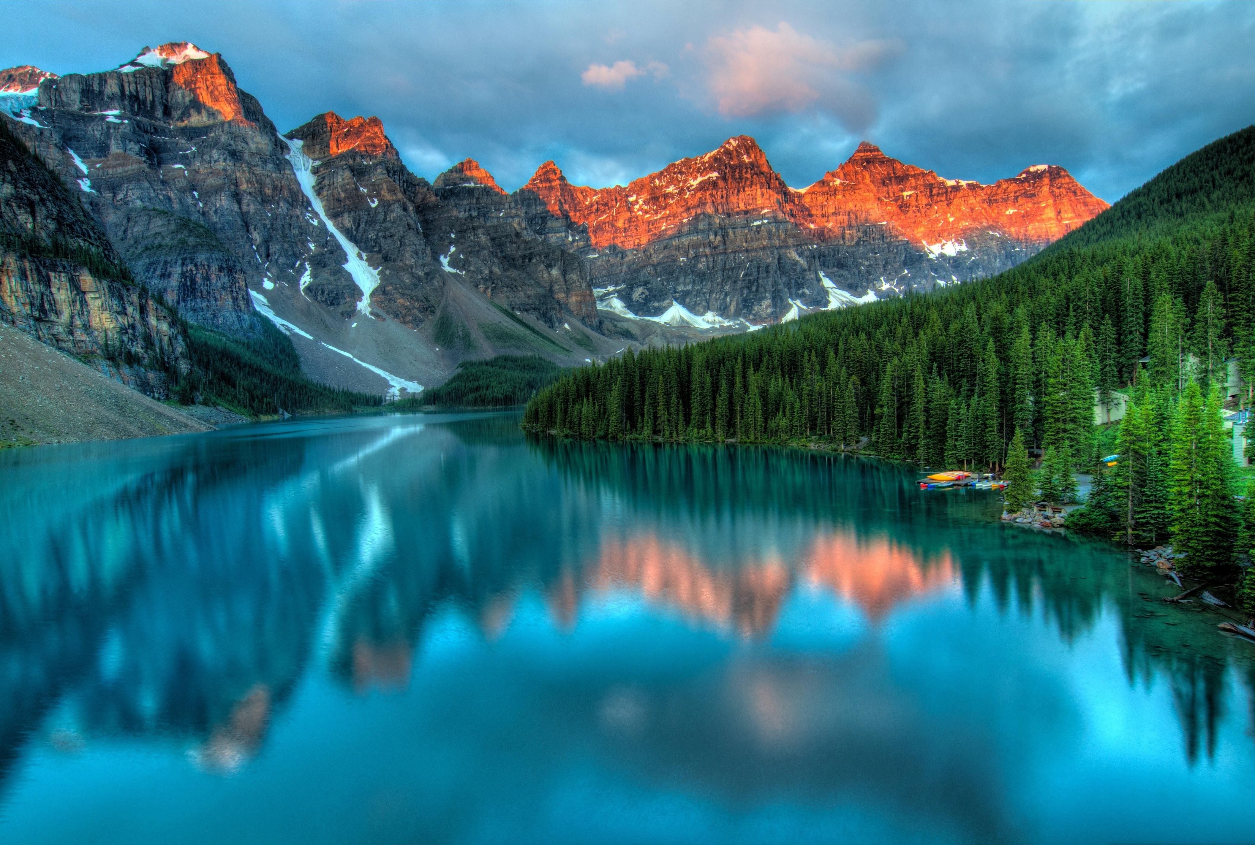 Lake and Mountain by James Wheeler