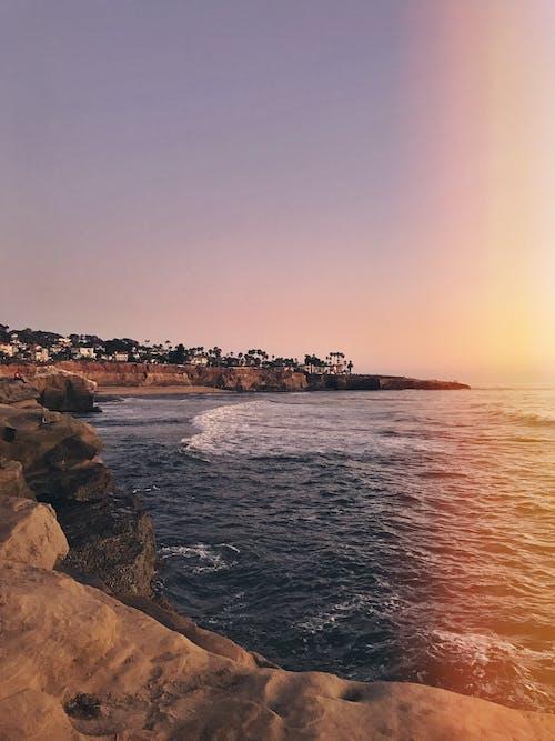 Безкоштовне стокове фото на тему «безтурботний, безхмарний, берег, берег моря»