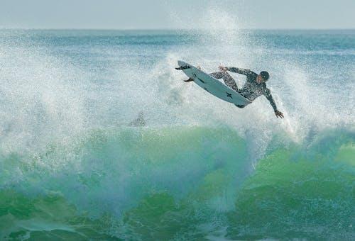 Δωρεάν στοκ φωτογραφιών με arial surfer, Surf, αέρος σέρφερ