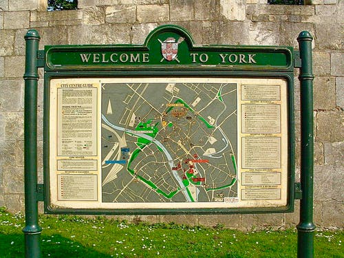 Free stock photo of city sign, england, north yorkshire