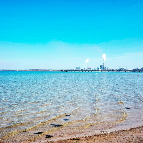 Kostenloses Stock Foto zu ausblick, blauer himmel, deutschland, dock