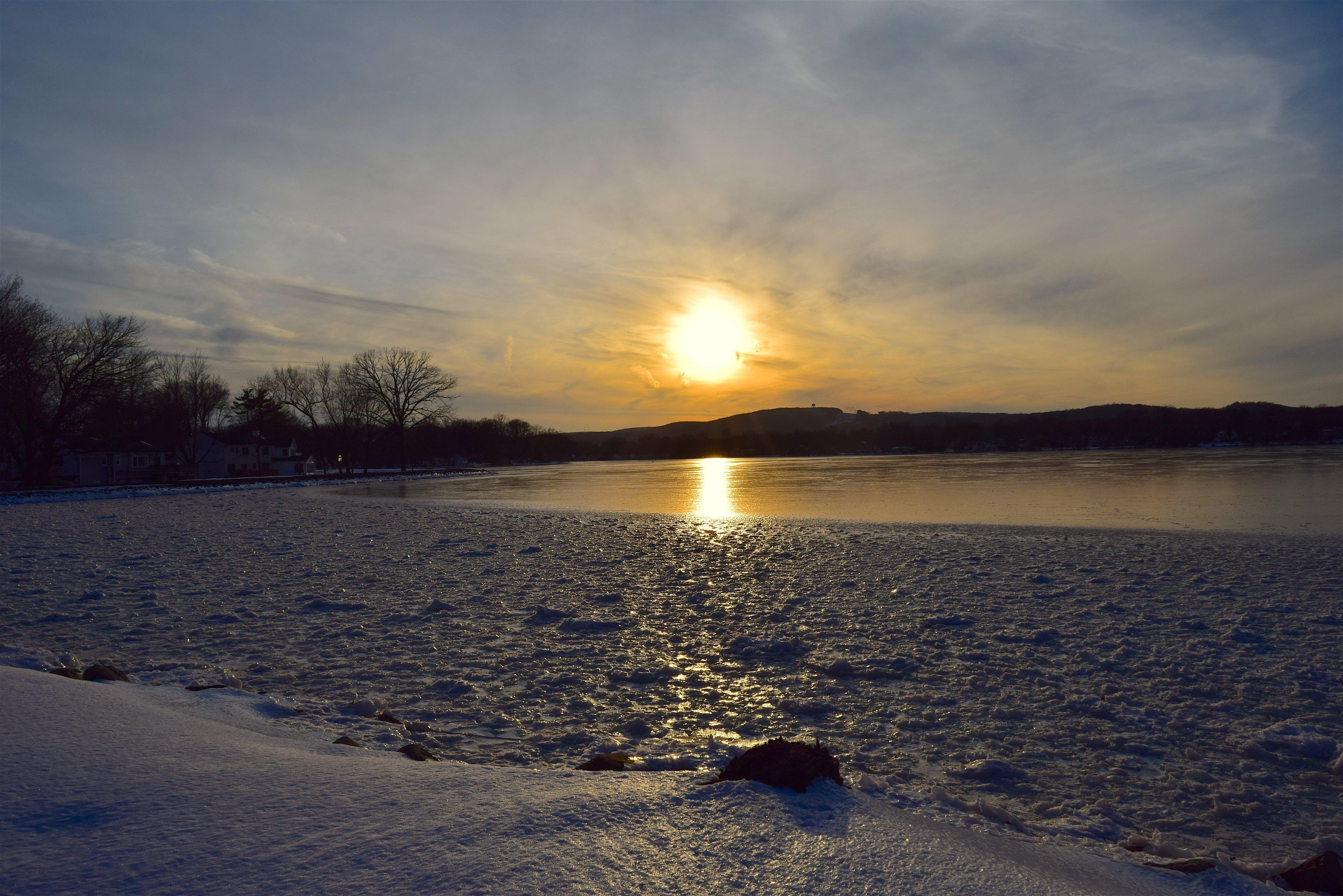 Golden Hour Photography of Seashore