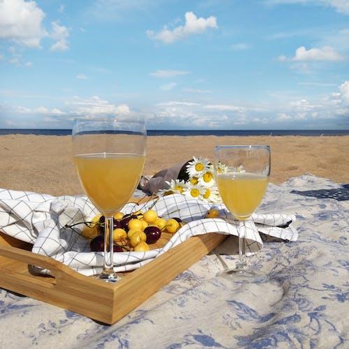 Free stock photo of breakfast, lake, luxury