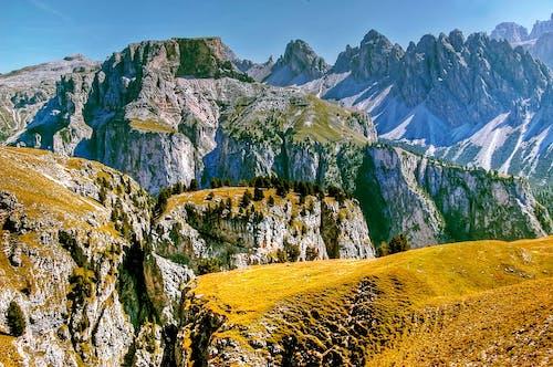 Бесплатное стоковое фото с Альпийский, величественный, вид, голубое небо