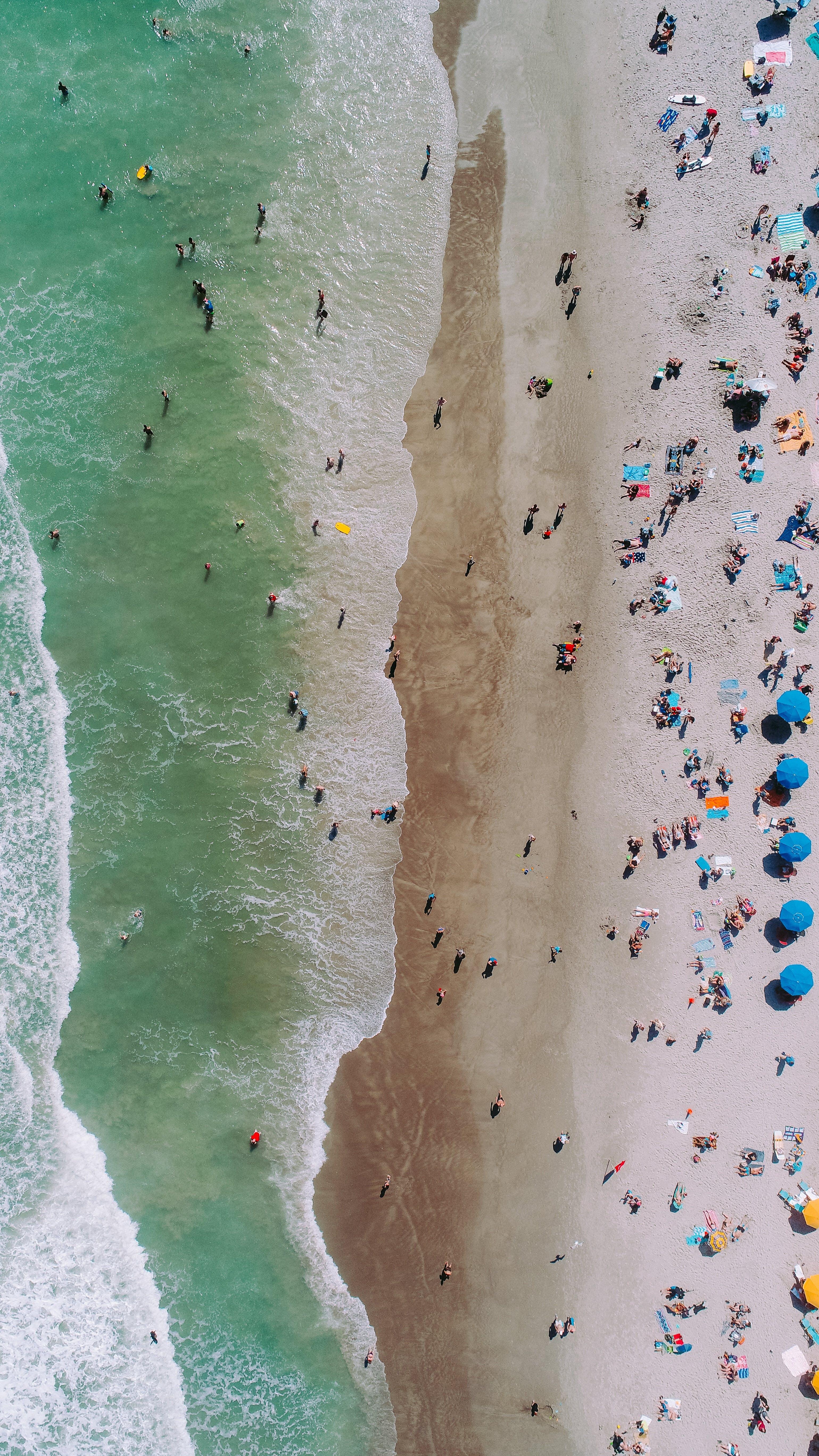 Free stock photo of aerial, aeriel, beach, drove