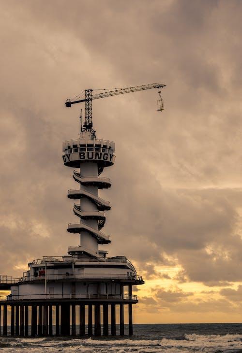 Základová fotografie zdarma na téma architektura, krajina, loď, mávání