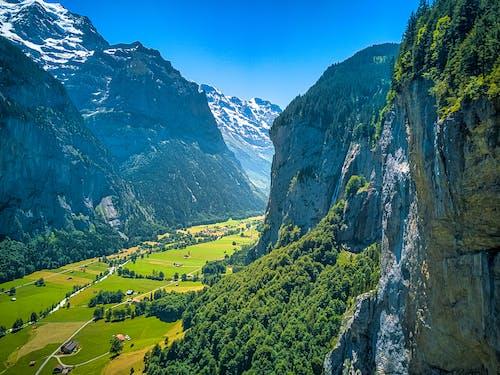 Δωρεάν στοκ φωτογραφιών με lauterbrunnen, Άλπεις, βουνό, Ελβετία