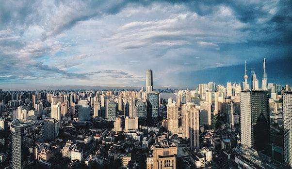 Free stock photo of city, sky, landmark, skyline