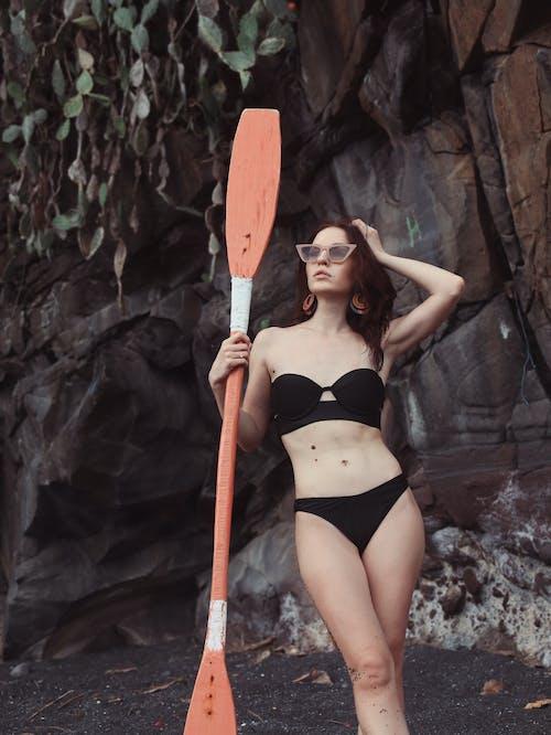 Ingyenes stockfotó álmodozó, álomszerű, békés, bikini témában