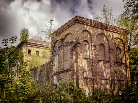 Free stock photo of building, mysterious, home, abandoned