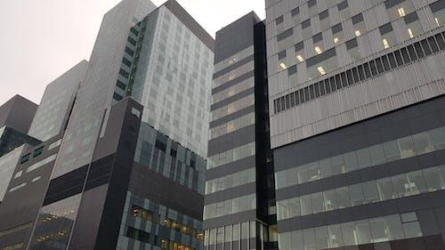 Grey Concrete Buildings