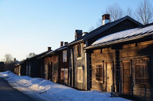 Gratis stockfoto met architectuur, besneeuwd, bevriezen, bevroren
