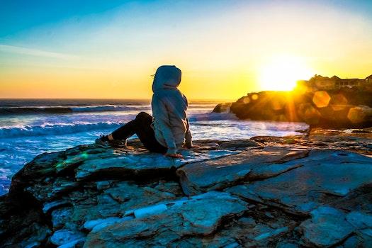 Free stock photo of cold, sea, city, dawn