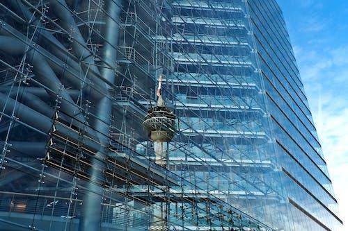 Gratis lagerfoto af arkitektdesign, arkitektur, blå, byggeri