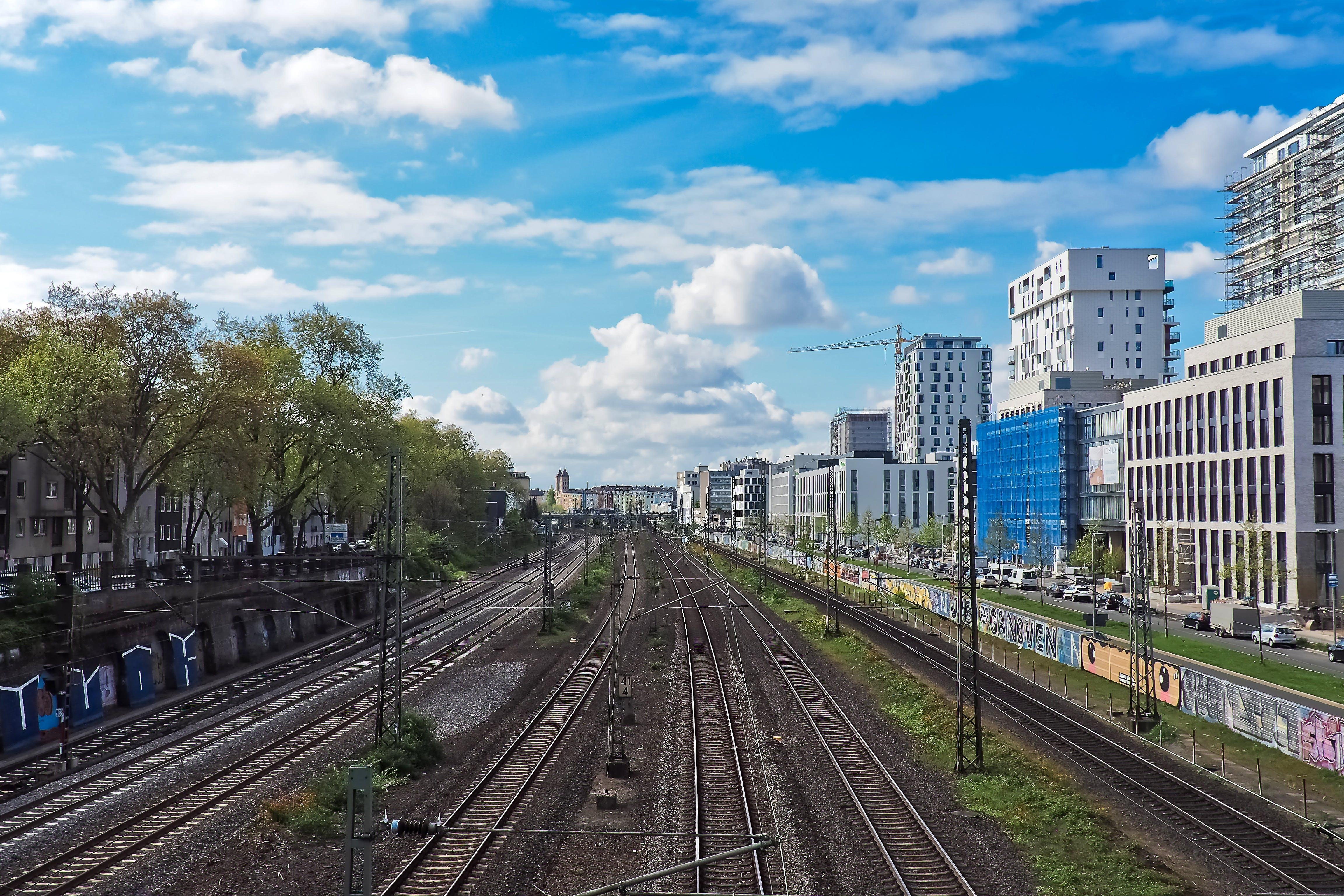 Empty Train Rail
