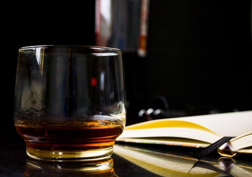Free stock photo of night, alcohol, office, drink
