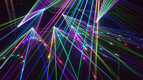 Luces Láser De Varios Colores