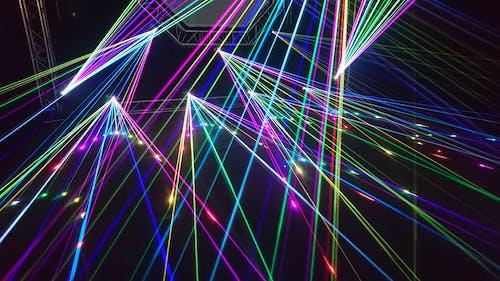 Luzes Laser De Cores Variadas