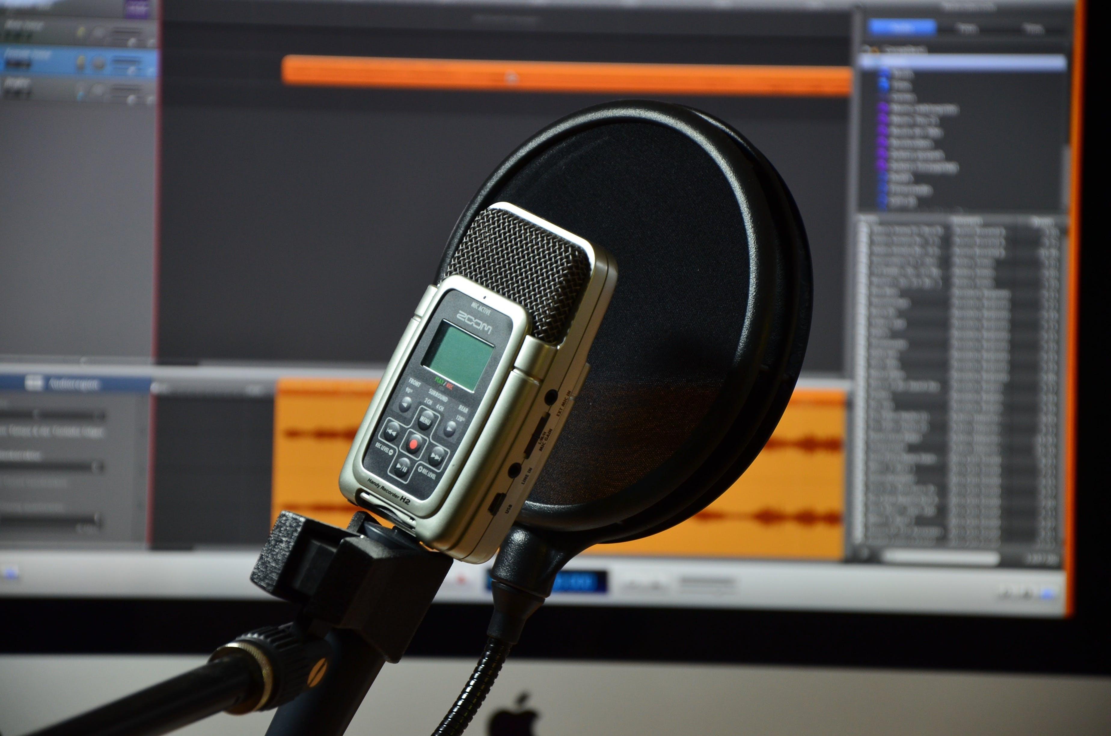 Free stock photo of audio, device, icon, micro