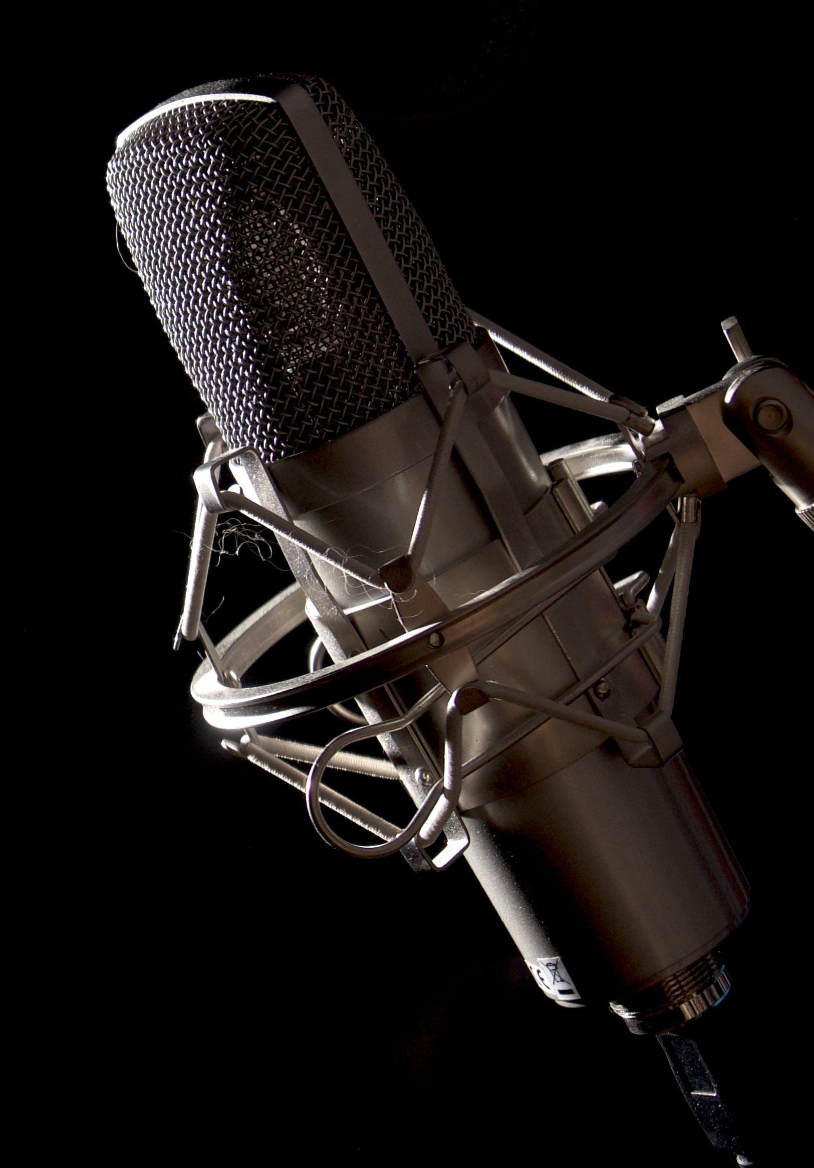 Free stock photo of audio, device, electronics, microphone