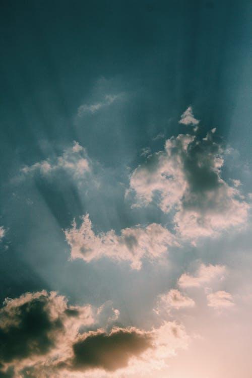Δωρεάν στοκ φωτογραφιών με αυγή, βροχή, δραματικός, δύση του ηλίου