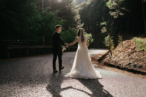 Free stock photo of bridal, couple, prewedding