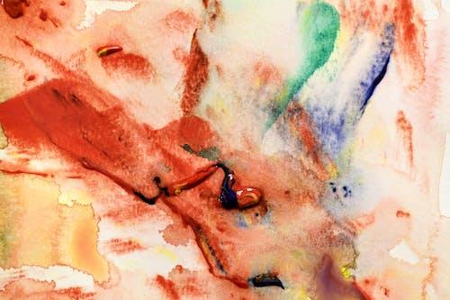Foto d'estoc gratuïta de abstracte, acrílic, aiguada, aquarel·la