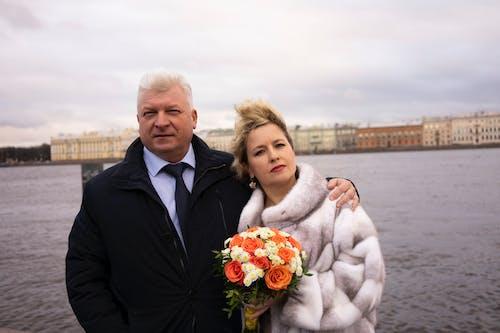 Gratis stockfoto met affectie, bruidegom, bruiloft, buiten