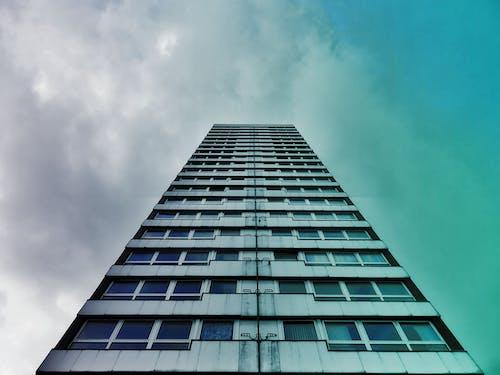 Immagine gratuita di acciaio, alto, architettura, articoli di vetro