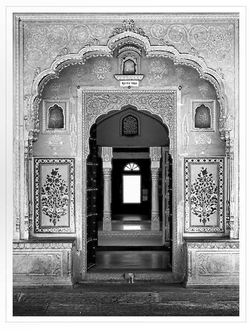 Immagine gratuita di india, porta, rajasthan