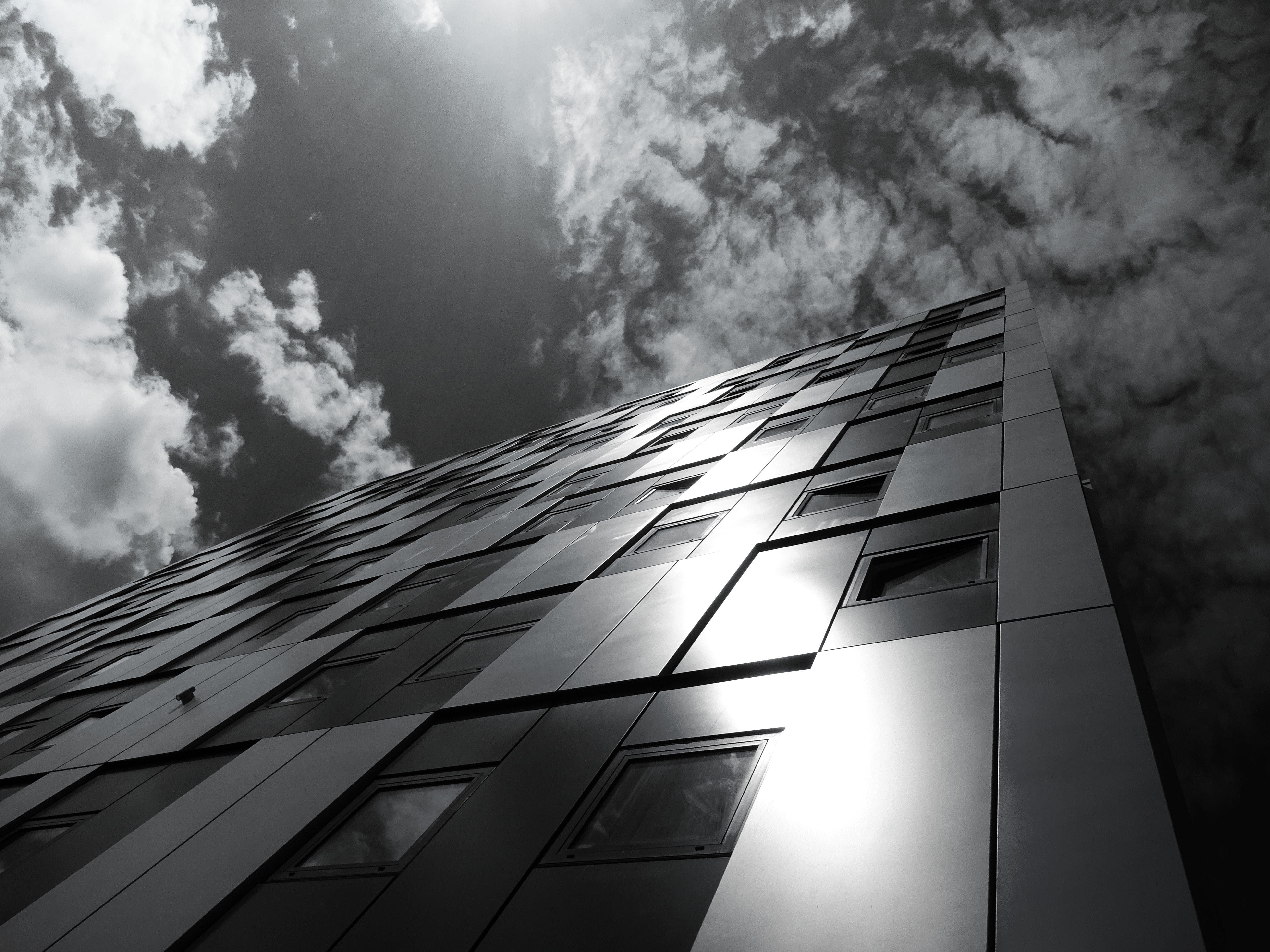 Building Under Clouds