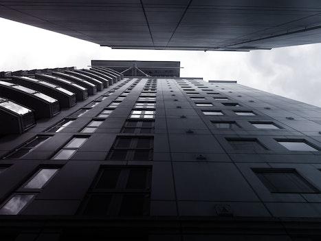Kostenloses Stock Foto zu himmel, gebäude, bau, glas