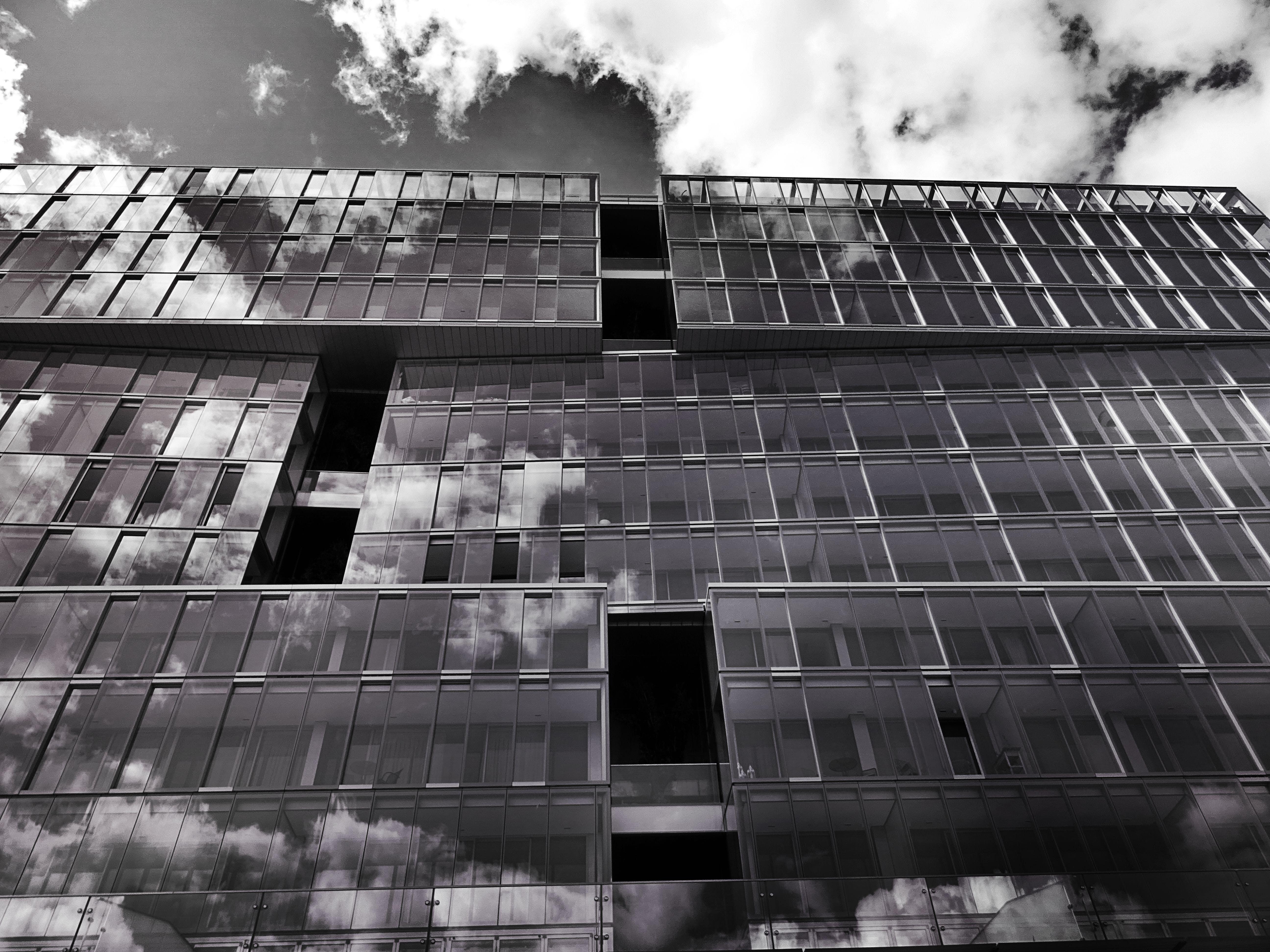 Fotos de stock gratuitas de arquitectura, arquitectura moderna, artículos de cristal, cielo