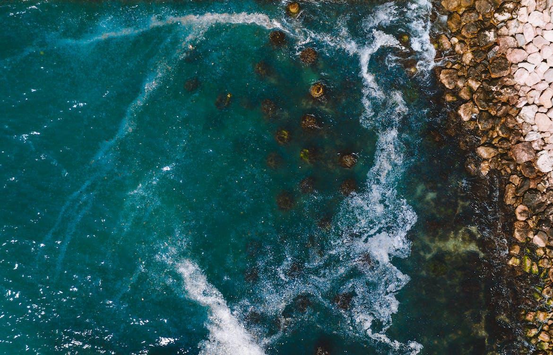 Безкоштовне стокове фото на тему «абстрактний, берег берега, берег океану»