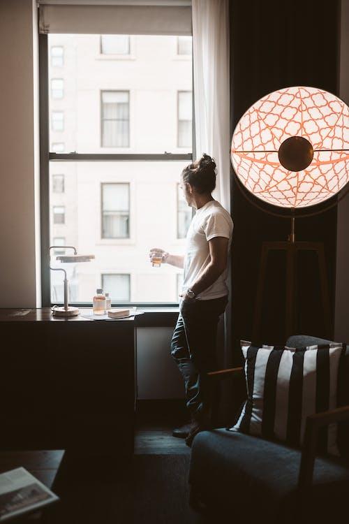 Fotos de stock gratuitas de a través de una ventana, adentro, aislamiento