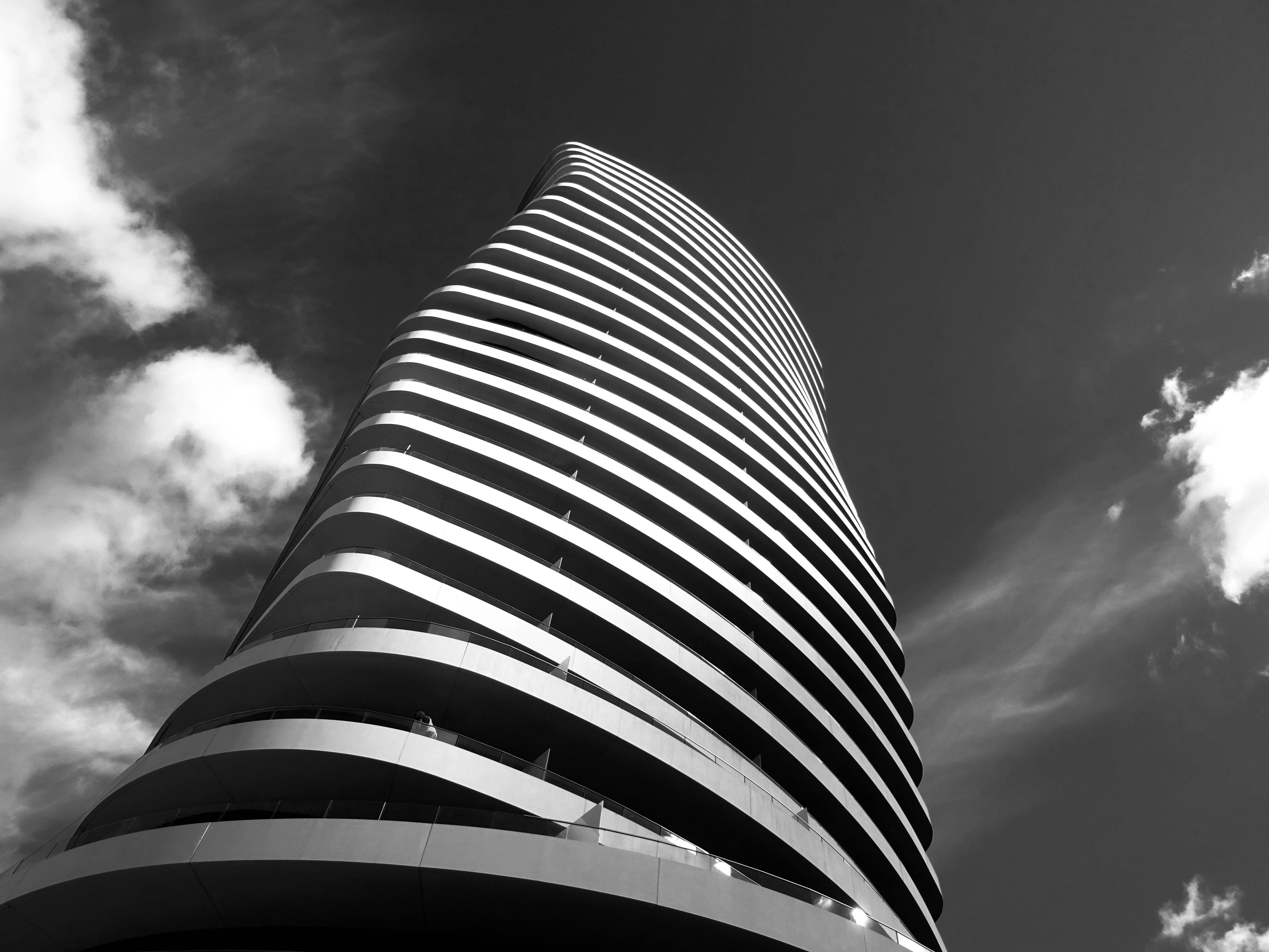 강철, 건설, 건축, 건축 설계의 무료 스톡 사진