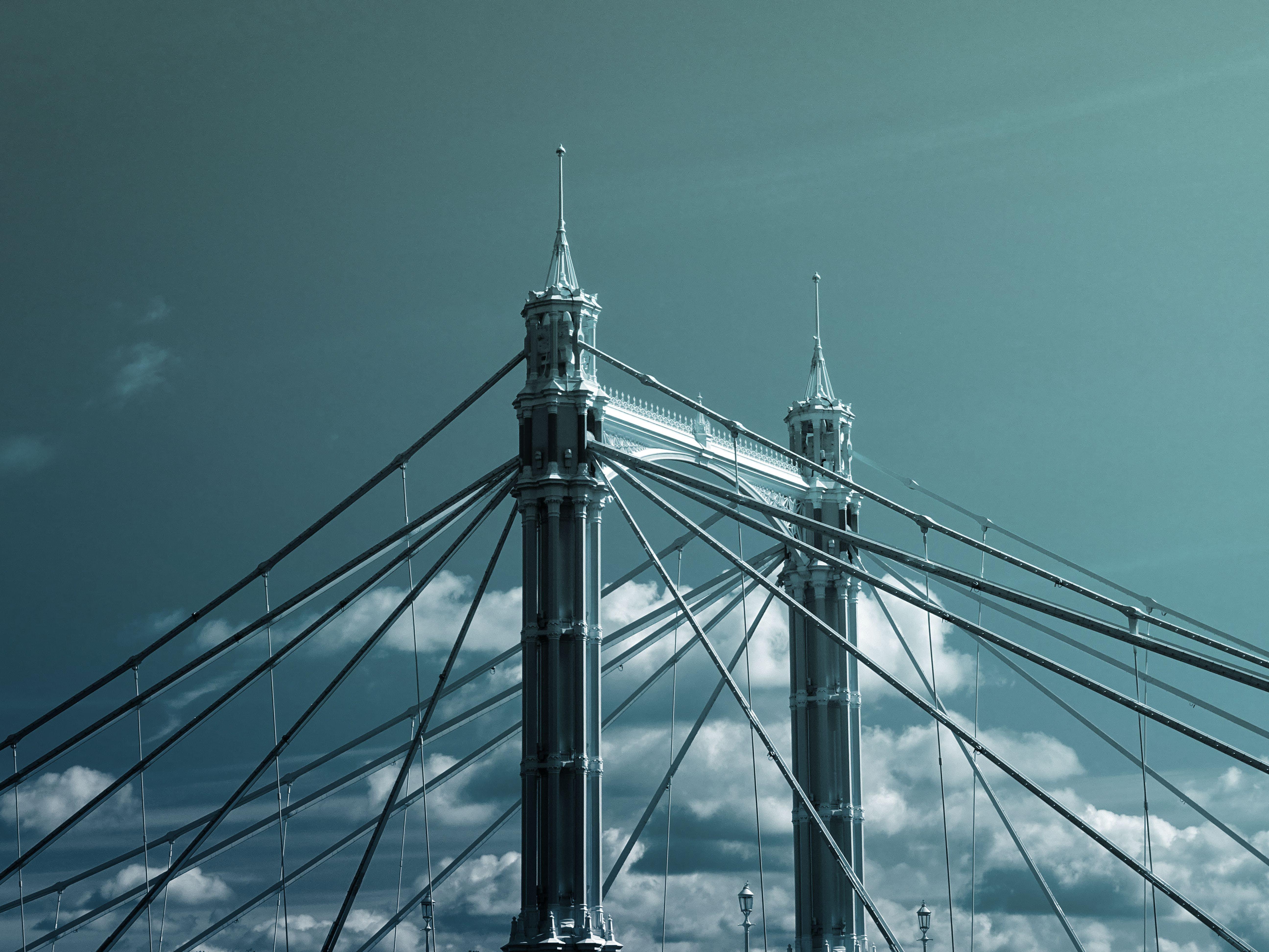 Kostenloses Stock Foto zu architektur, bau, brücke, futuristisch