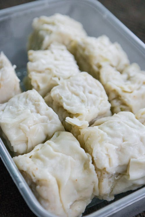 Close-Up Photo of Delicious Siomay