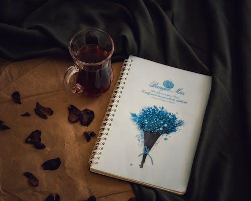 Free stock photo of دفتر, شاي أسود