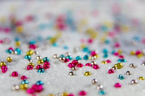 Shallow Focus Photo of Colorful Beads