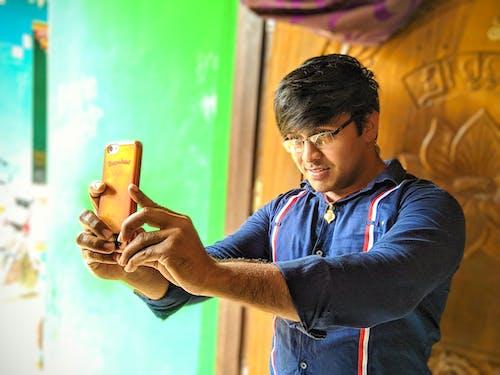 #mobilechallenge, #selfies, 20-25 yaşında erkek, baeutiful gözler içeren Ücretsiz stok fotoğraf