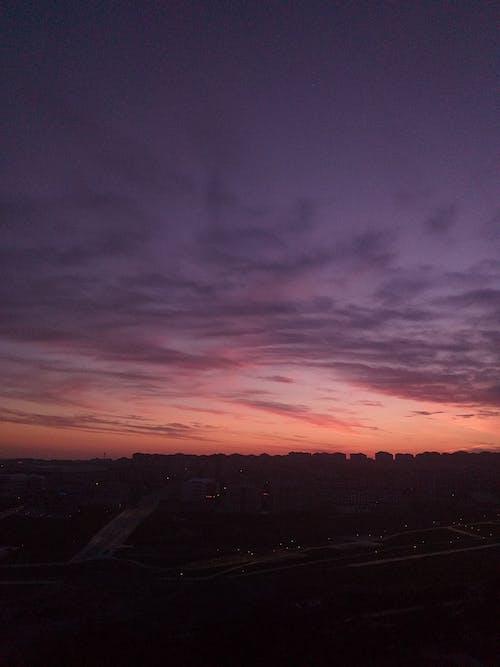 Ingyenes stockfotó gyönyörű naplemente, kényelmes otthon témában