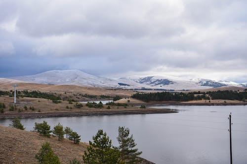 Free stock photo of beautiful, clouds, lake