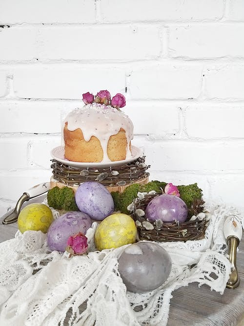 Free stock photo of decorate, easter cake, easter decorations