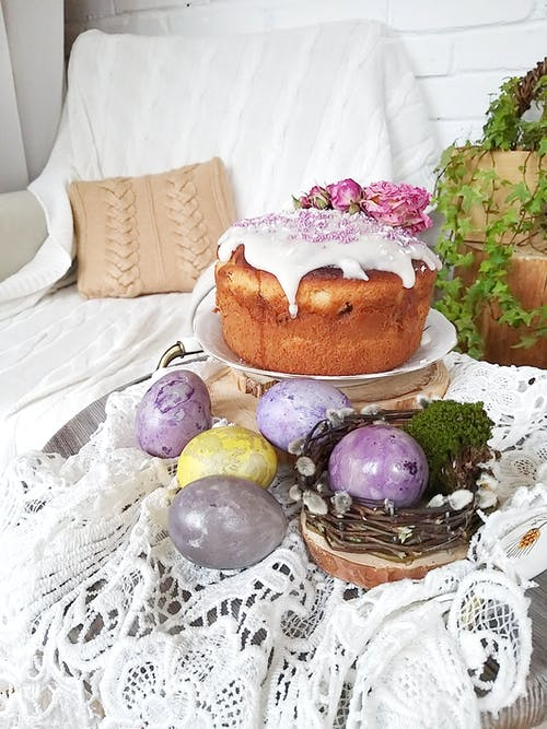 Free stock photo of cosiness, easter, easter cake