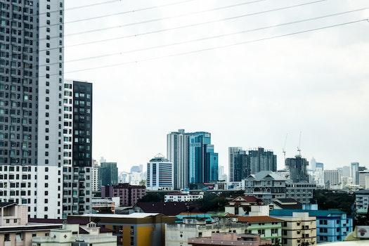Free stock photo of city, sky, buildings, skyscrapers