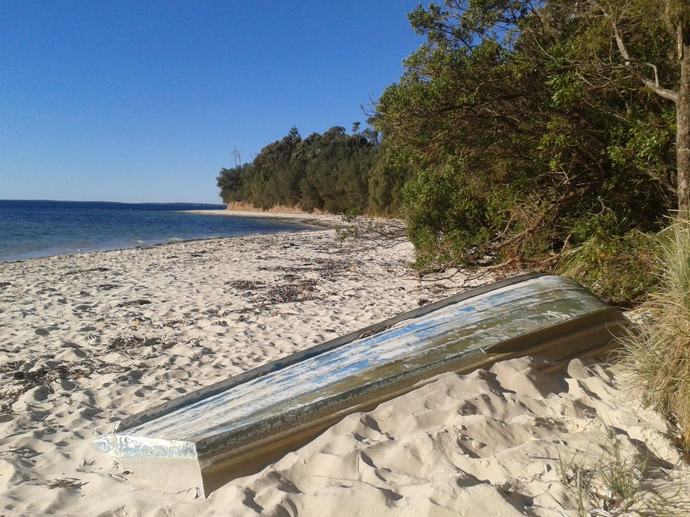 Free stock photo of beach seascape
