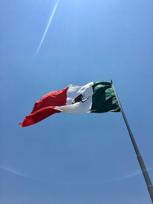 Free stock photo of bandera, el zócalo, mexican flag